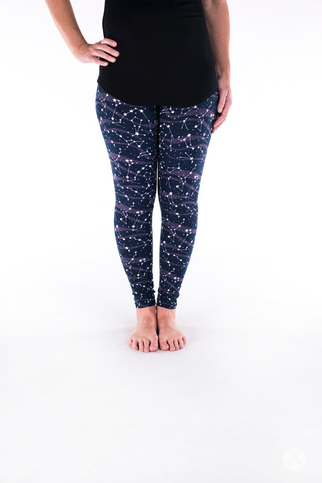 Milky Way Petite leggings - SweetLegs