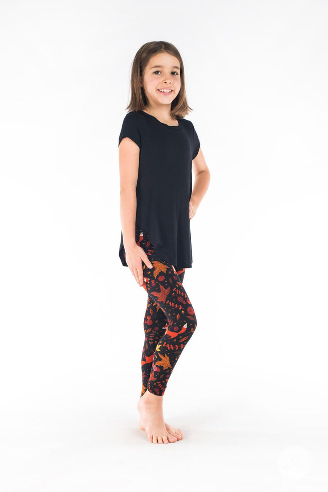 Pumpkin Spice Kids leggings - SweetLegs