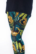Leopard King Kids leggings - SweetLegs