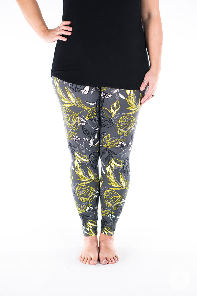 Night Bloom leggings - SweetLegs