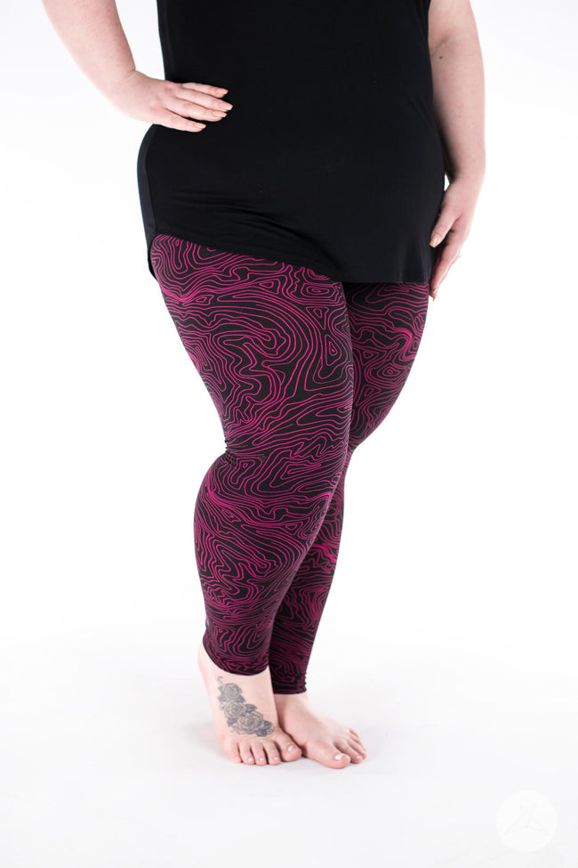 Next Level Plus leggings - SweetLegs