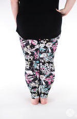 Fleur Real Plus leggings - SweetLegs