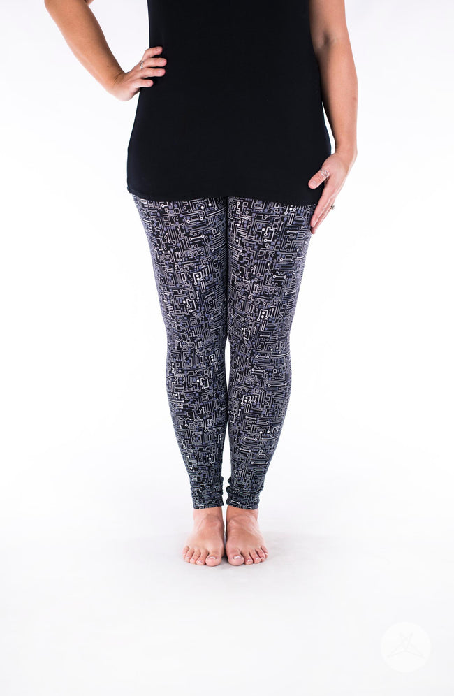 Short Circuit leggings - SweetLegs