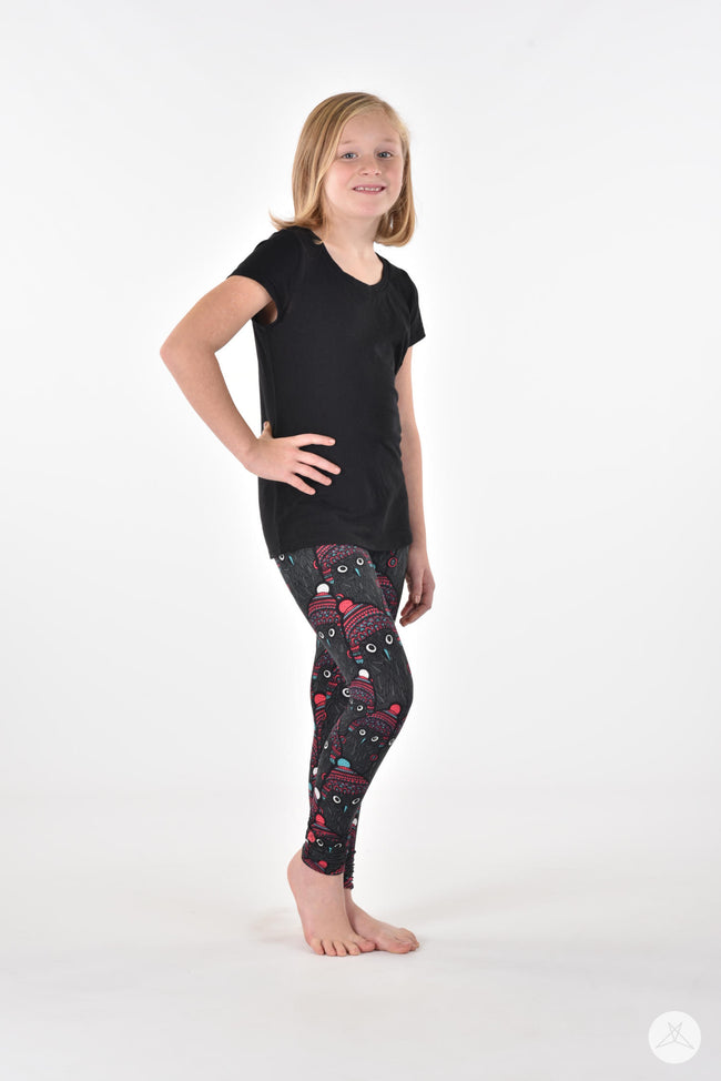 Canadian Parliament 2.0 Kids leggings - SweetLegs