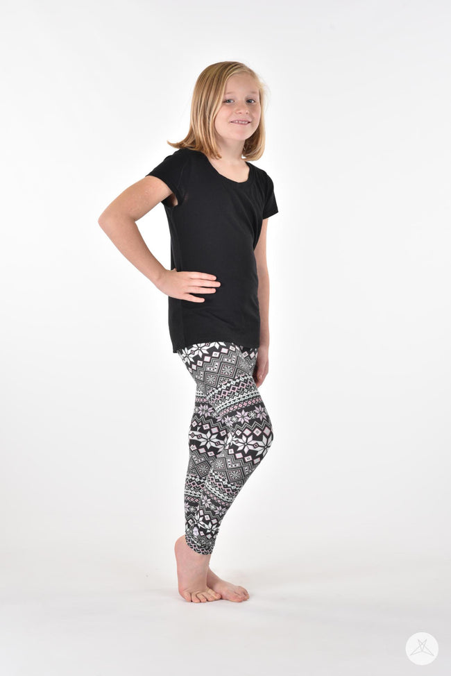 Snow Angel Kids leggings - SweetLegs
