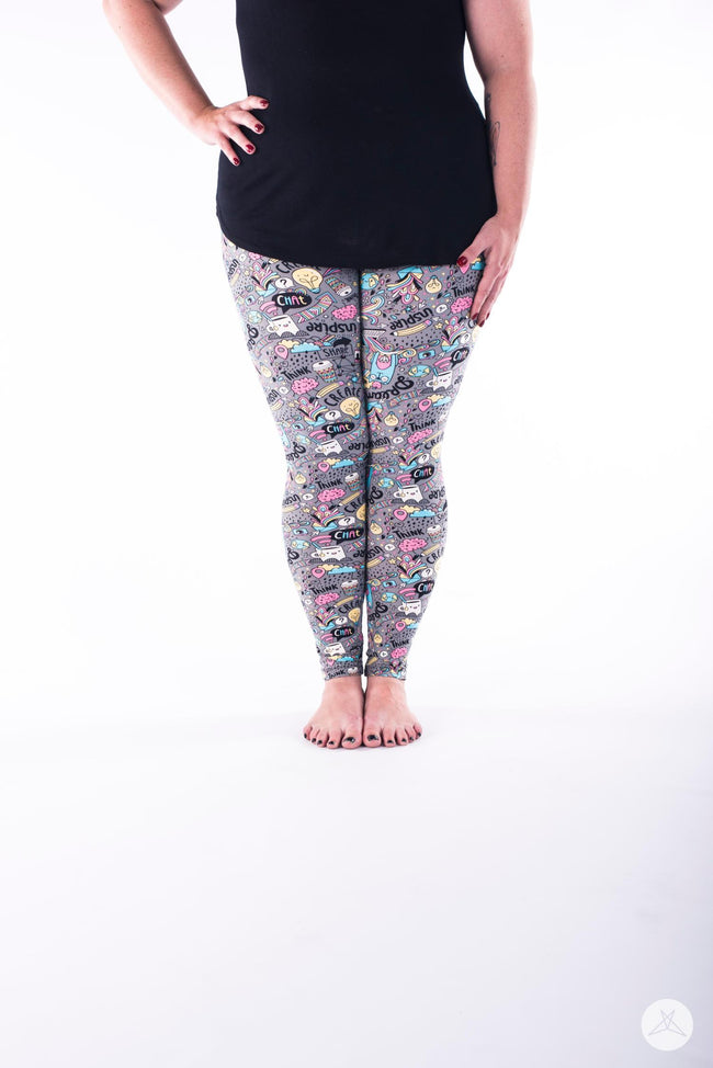 Dreambook Plus leggings - SweetLegs