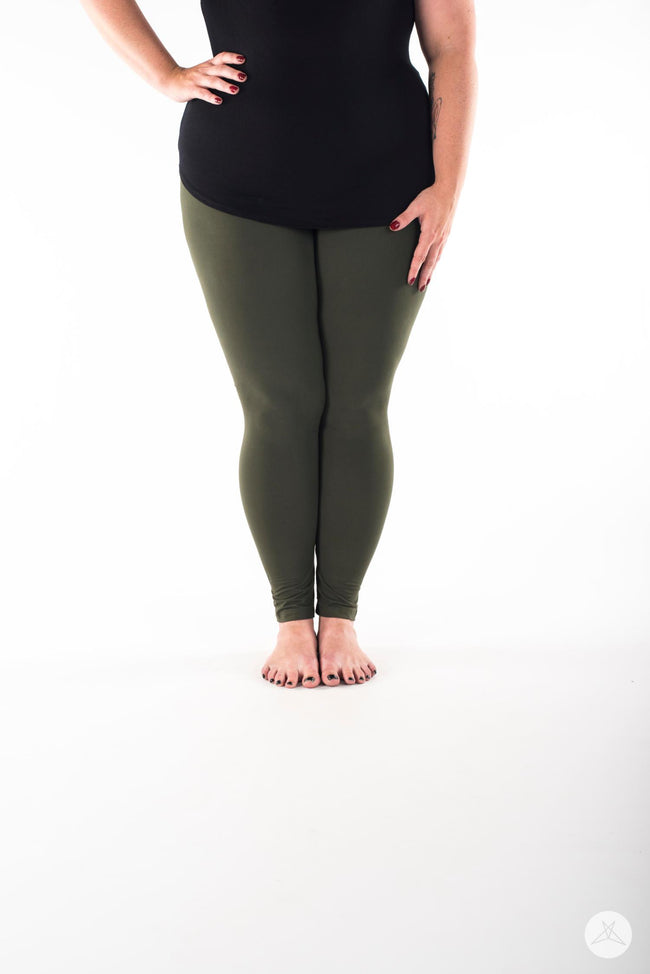 Juniper Plus leggings - SweetLegs