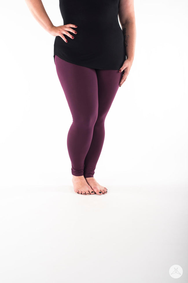 Sangria Plus leggings - SweetLegs