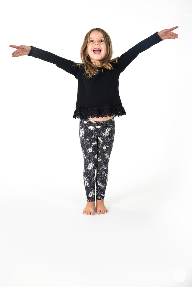 Zero Gravity kids leggings - SweetLegs
