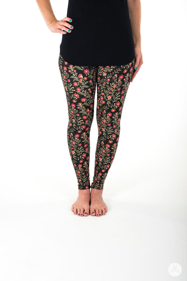 Harvest Blossom Petite leggings - SweetLegs