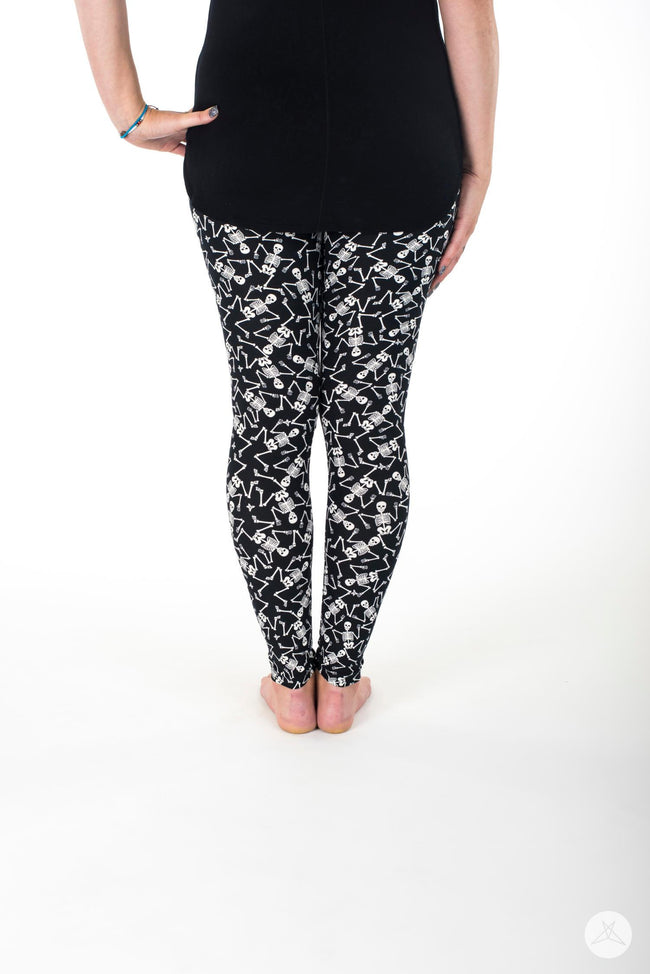 Dem bones leggings - SweetLegs