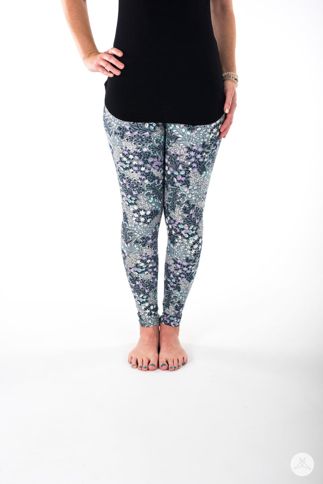 Sugar Plum Petite leggings - SweetLegs