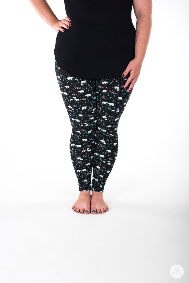 Arctic Ridge Plus leggings - SweetLegs