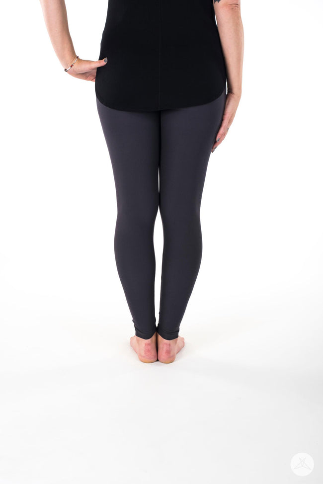 Anthracite leggings - SweetLegs