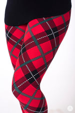 Perfectly Plaid Petite leggings - SweetLegs
