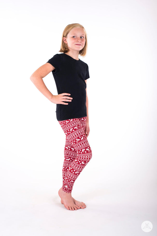 Oh Deer! Kids leggings - SweetLegs