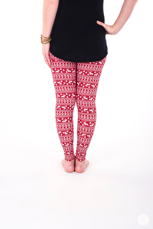 Oh Deer! Petite leggings - SweetLegs
