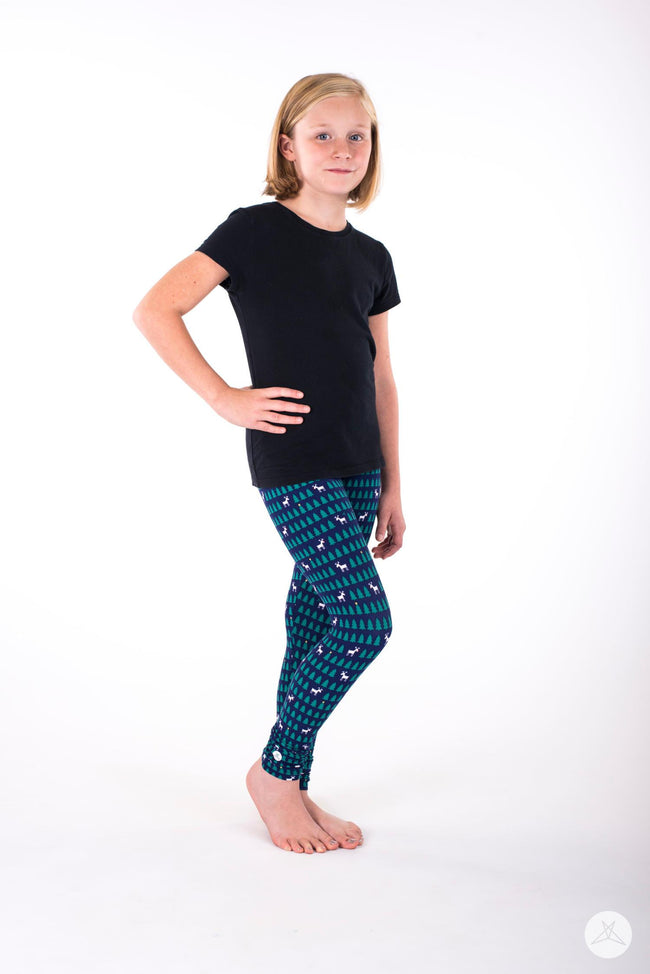 Reindeer Games Kids leggings - SweetLegs