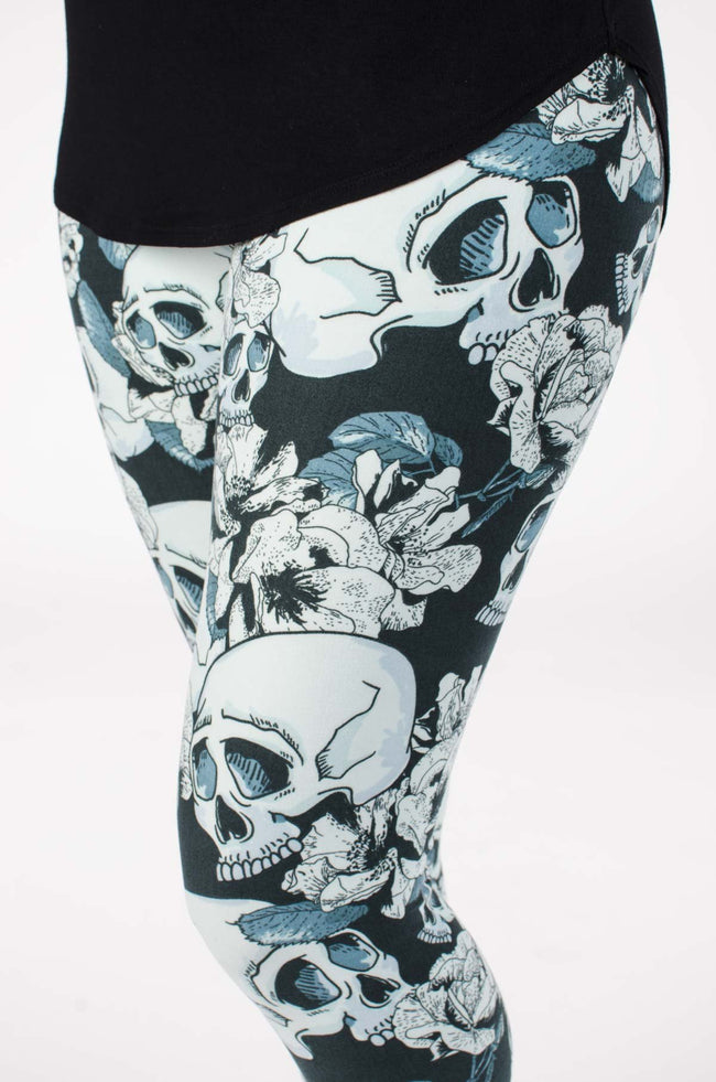 Rad To The Bone leggings - SweetLegs
