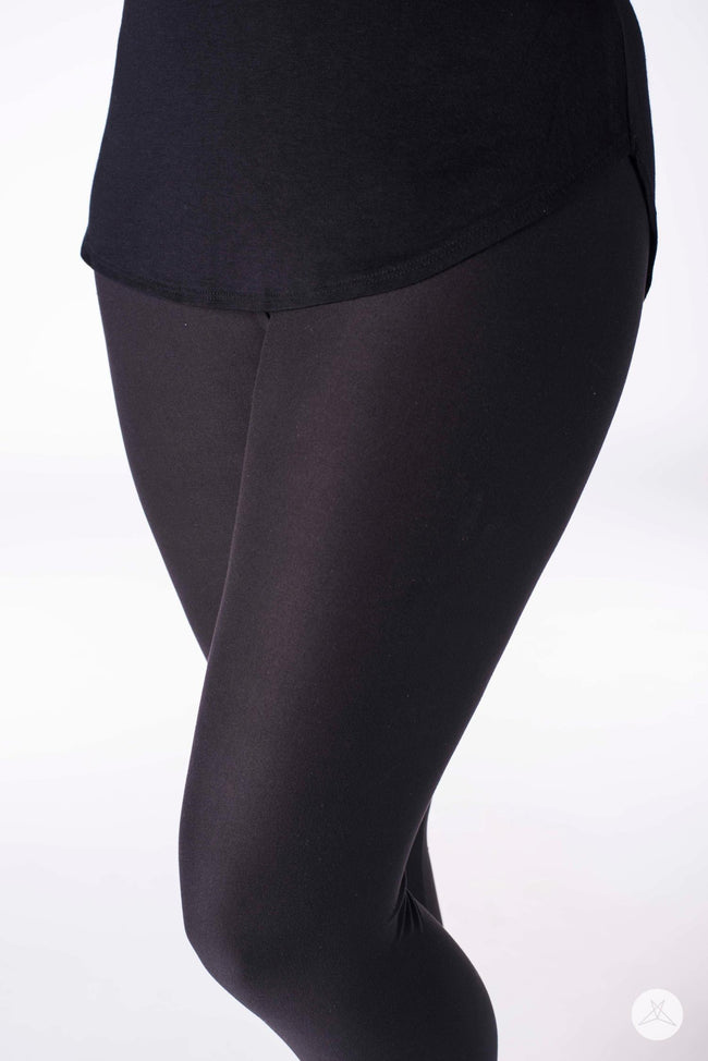 Black Licorice leggings - SweetLegs