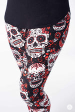 Rebel Heart leggings - SweetLegs