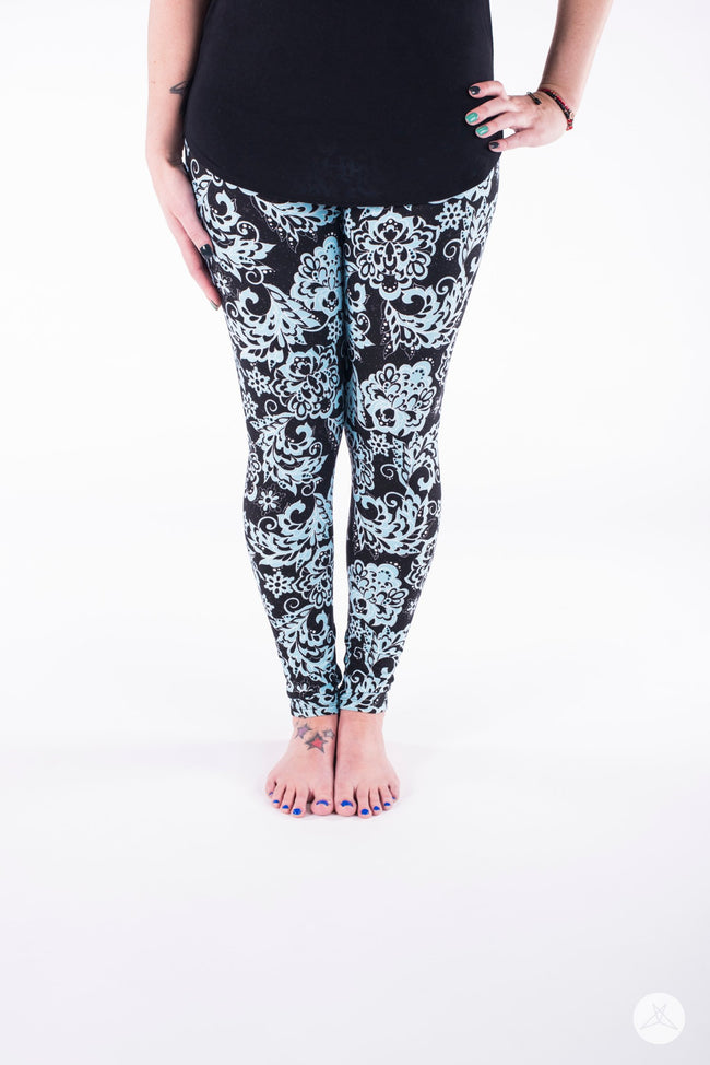 Night Flower leggings - SweetLegs