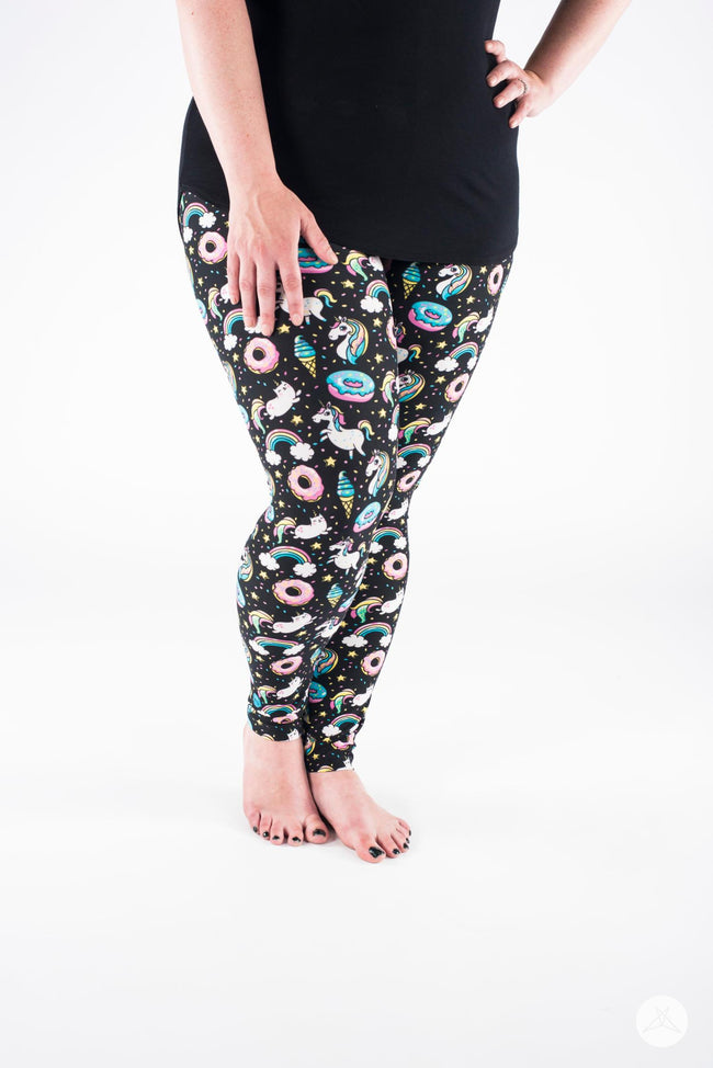 Happiness Plus leggings - SweetLegs