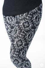 Jagged Love leggings - SweetLegs