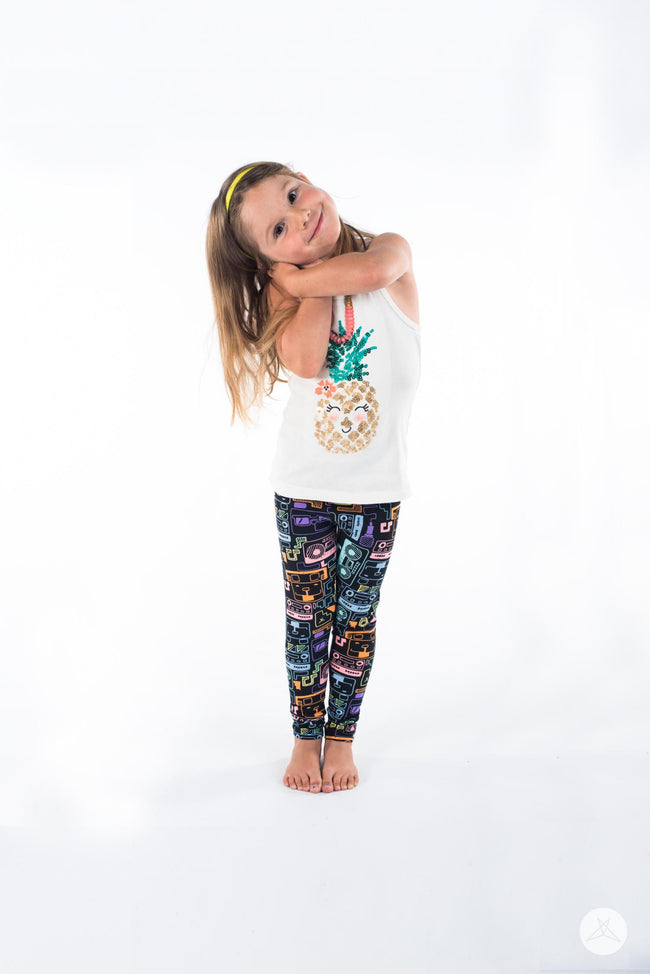Sound Bytes Kids leggings - SweetLegs