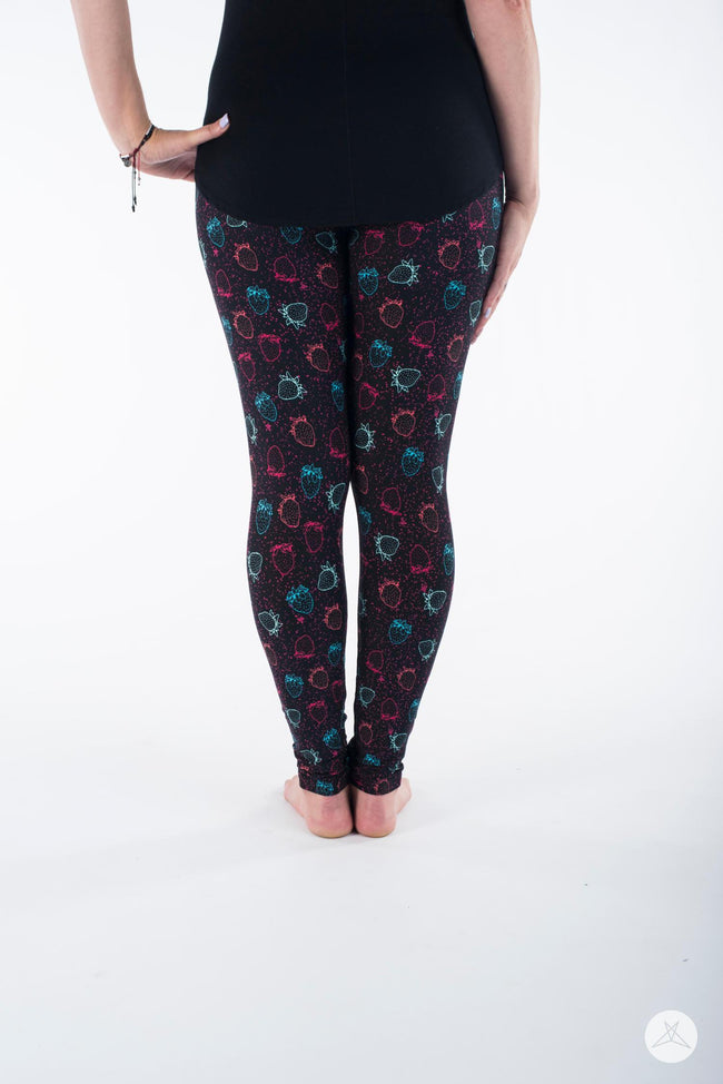 Berry Delightful leggings - SweetLegs