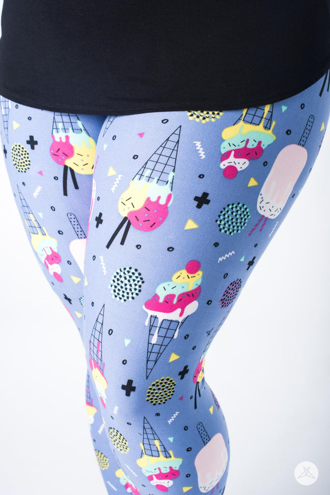 Lickity Split Plus leggings - SweetLegs