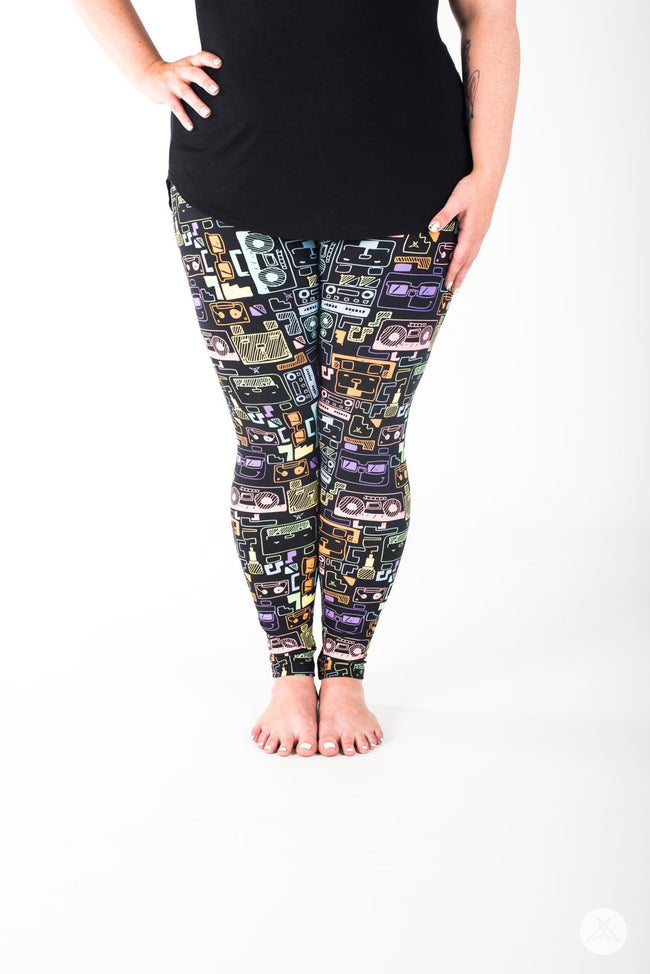 Sound Bytes Plus leggings - SweetLegs
