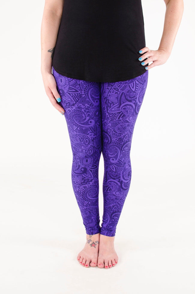 Indigo Daze leggings - SweetLegs