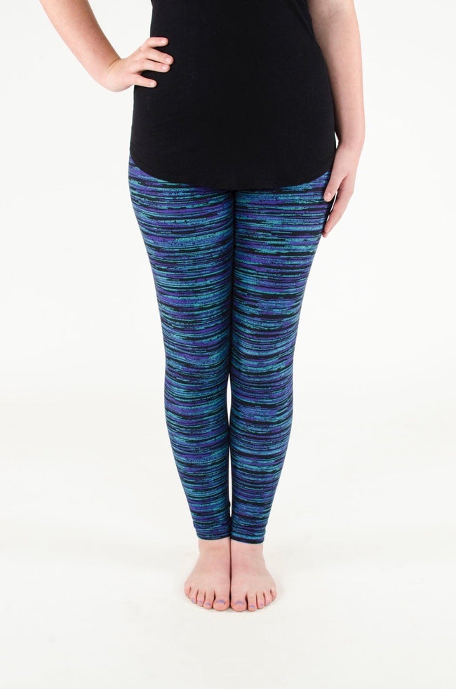 Black Opal Petite leggings - SweetLegs