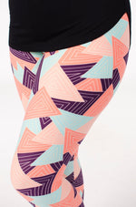Creamsicle Petite leggings - SweetLegs