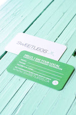100 Generic Business Cards leggings - SweetLegs
