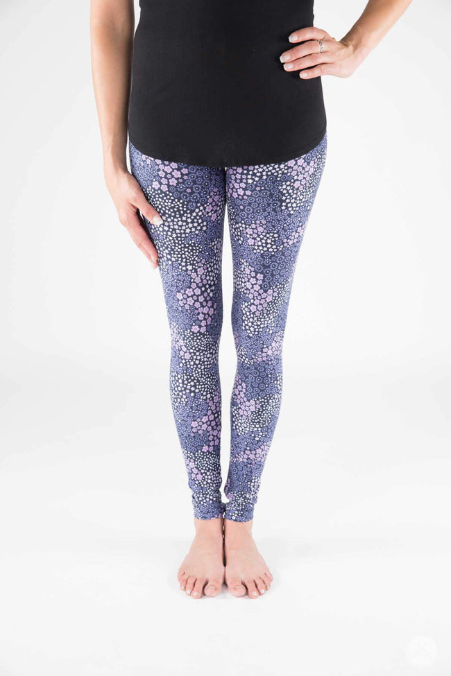 Baby Blue Eyes Petite leggings - SweetLegs