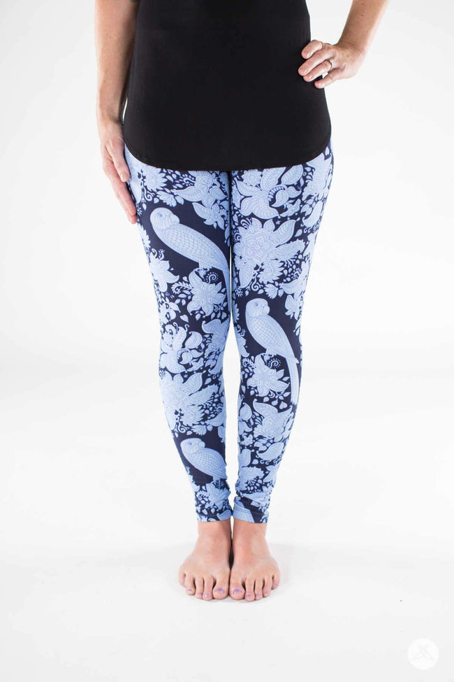 Blue Canyon Petite leggings - SweetLegs