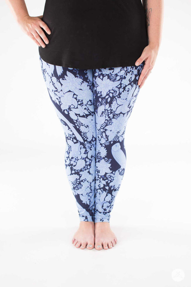 Blue Canyon Plus leggings - SweetLegs