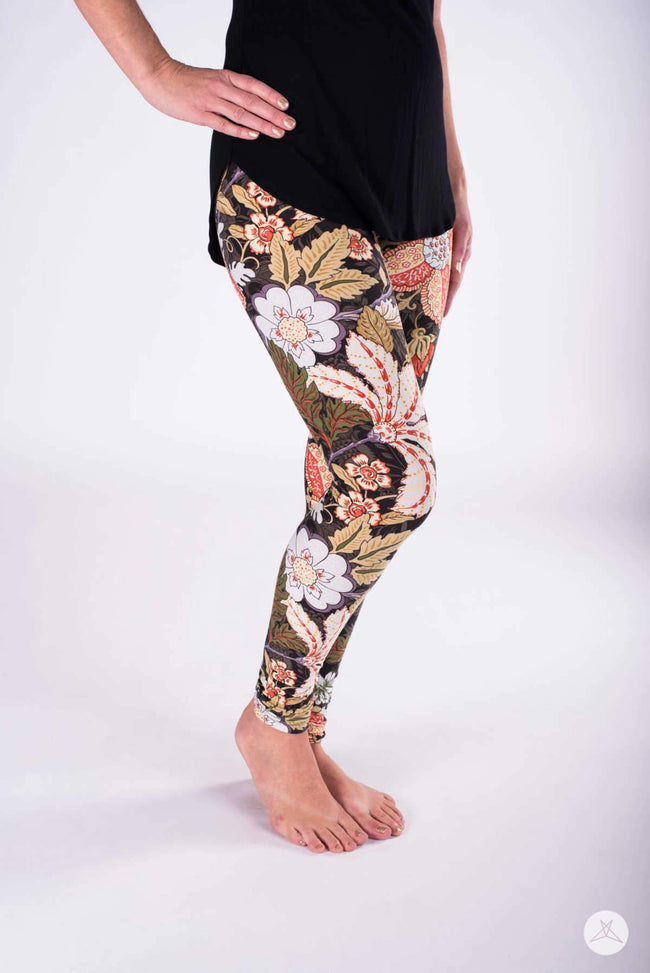 Royal Autumn Petite leggings - SweetLegs