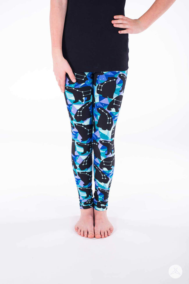Polar Light Kids leggings - SweetLegs
