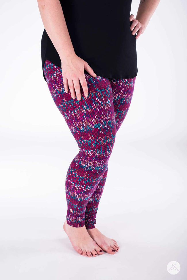 Yarnival Plus leggings - SweetLegs