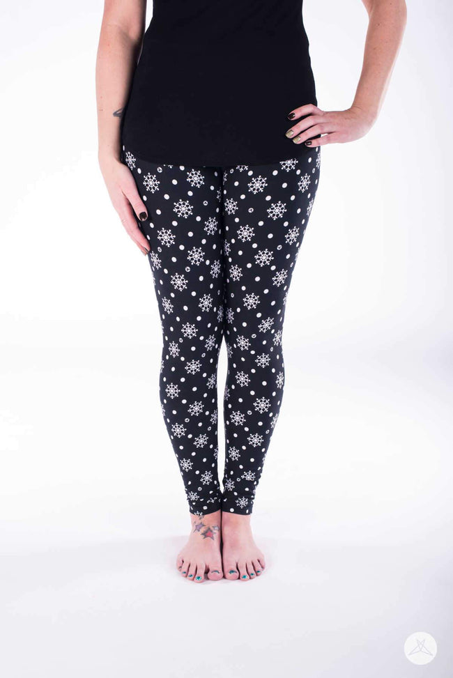 In A Flurry leggings - SweetLegs