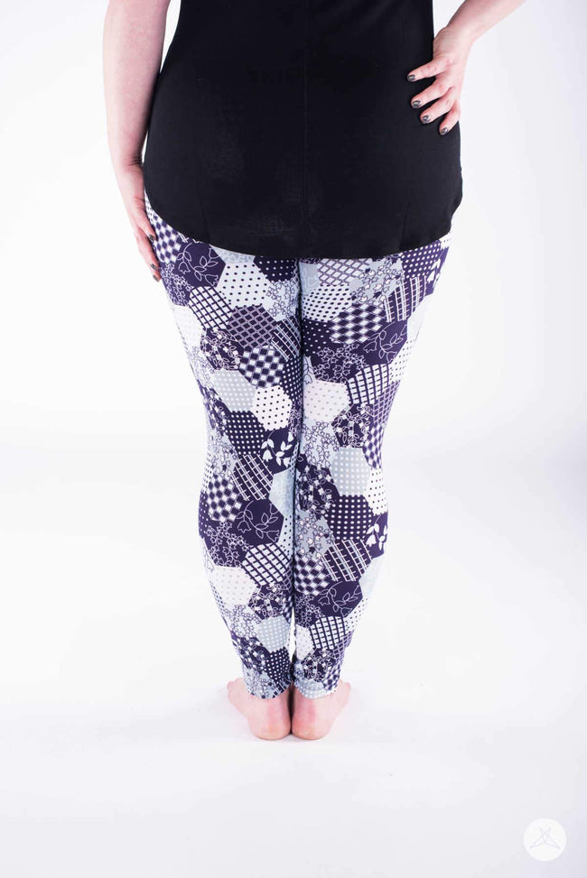 Material Girl Plus leggings - SweetLegs