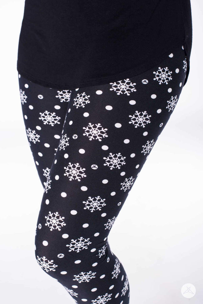 In A Flurry Petite leggings - SweetLegs