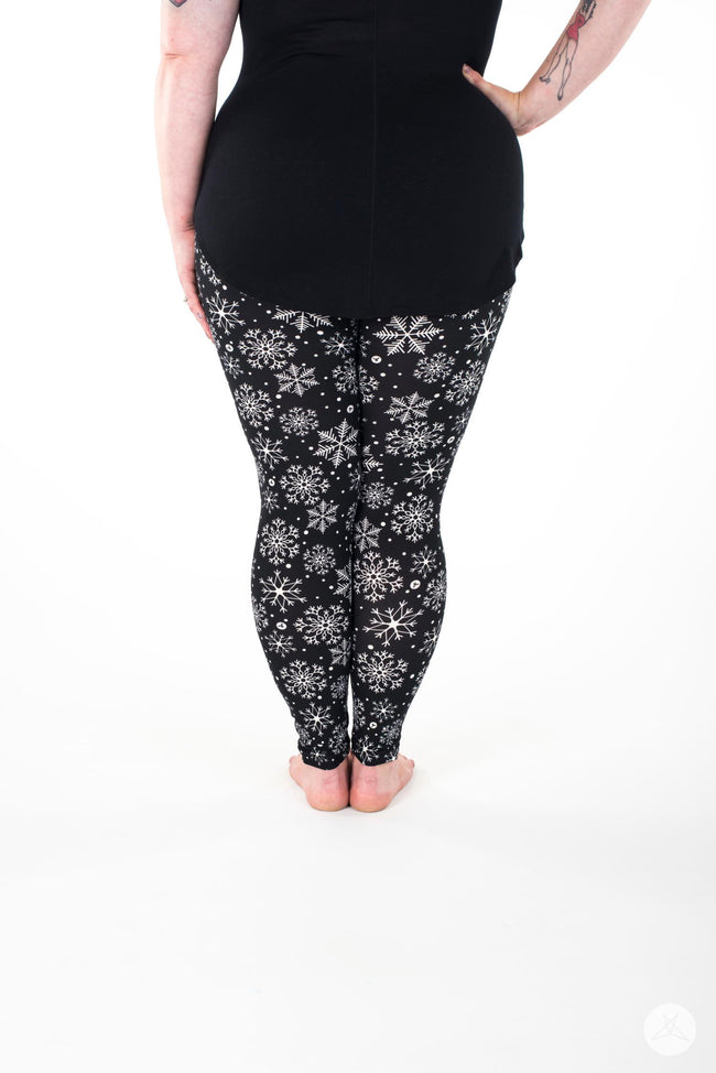 Snowbound Plus leggings - SweetLegs