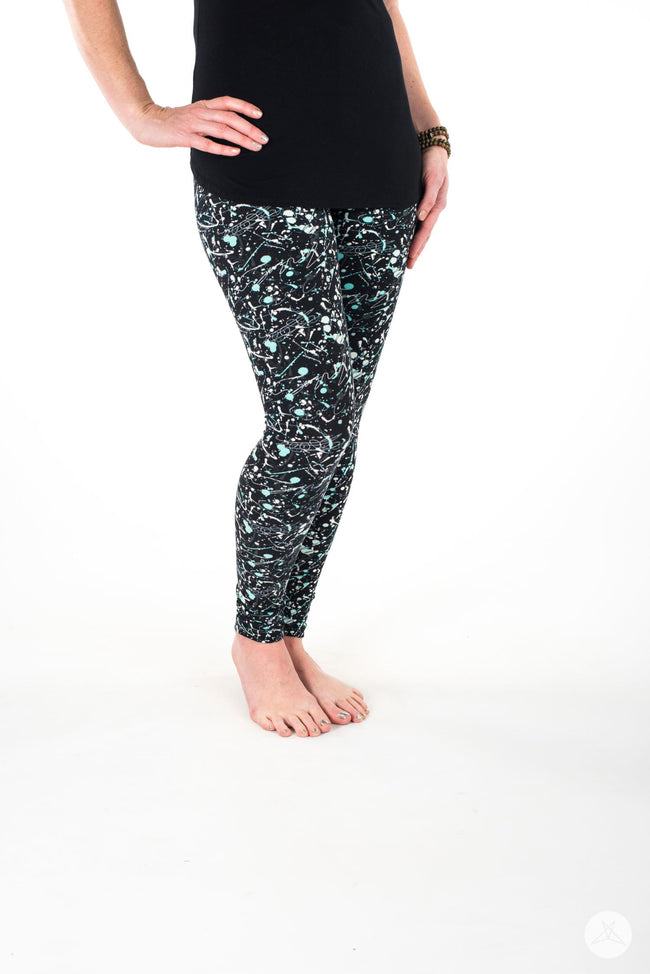 Art Attack Petite leggings - SweetLegs