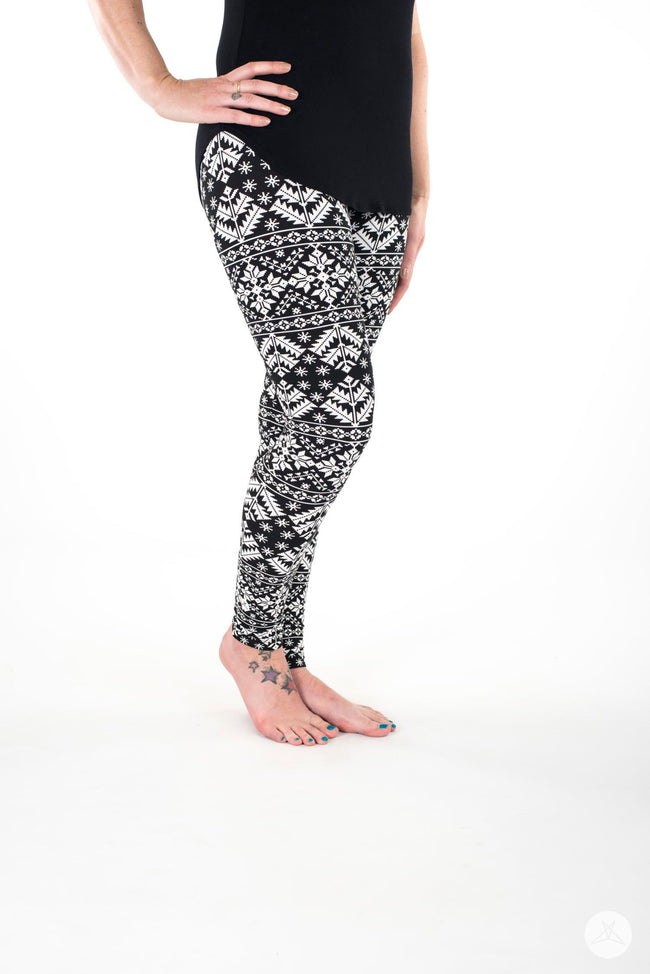 Whiteout leggings - SweetLegs