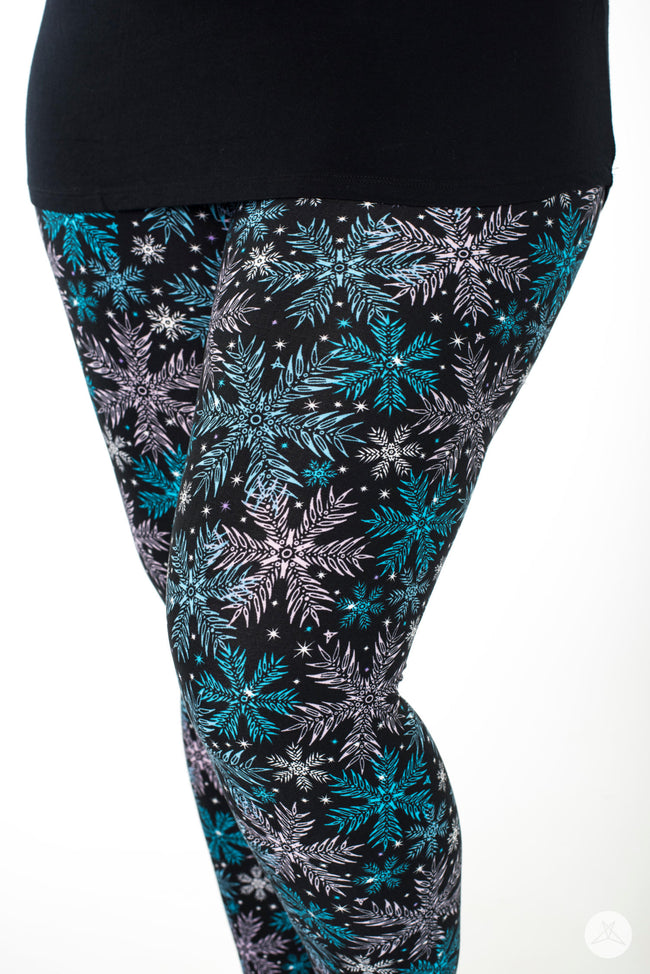 Ice Queen leggings - SweetLegs