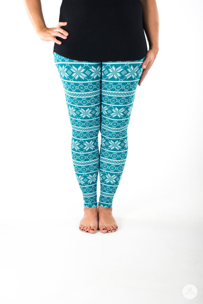 Wintermint leggings - SweetLegs